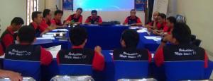 PT Samudera Luas Paramacitra weekly coordination meeting